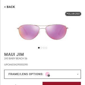 1956eaccbf Maui Jim · Maui Jim Baby Beach Sunglasses